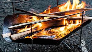 【ピコグリル398レビュー】ソロキャンプに最高の焚き火台である理由