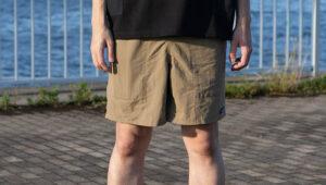 【レビュー】パタゴニアのバギーズロングは履き心地抜群!サイズ感も紹介【バギーズショーツ7インチ】